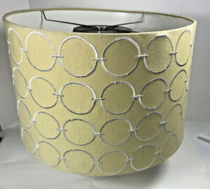 Urbanest Modern Box Drum Lampshade Geometric Chain Link Design Spider Fitted