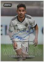 2018 Topps Stadium Club MLS Soccer Autograph AUTO #12 Cristian Techera