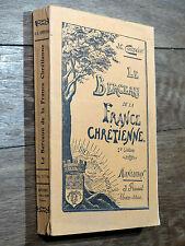 Contensou LE BERCEAU DE LA FRANCE CHRÉTIENNE Prunet 1910 MONTAUBAN Clovis