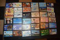 LOT DE 36 TELECARTE  CARTES TELEPHONIQUE FRANCE  VINTAGE PHONE CARD 50 ET 120 U