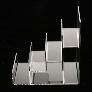 Acrylic Shelf Display Rack Stand for Cupcake,Makeup, Perfume, Collectibles