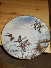 In To Feed By David Maass 1988 Danbury Mint collectors plate