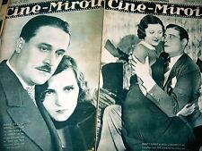 CINE MIROIR lot 18 revues 1931