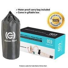 HiCom Mart - Durable Foam Massage Fitness Roller, Color: Black