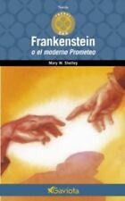 Frankestein O El Moderno Prometeo (Spanish) Paperback by Mary Wollstonecraft