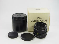 BRAND NEW !! MC Zenitar-M 1.9 50mm M42 Zenit. Retail box. s/n 91040343.