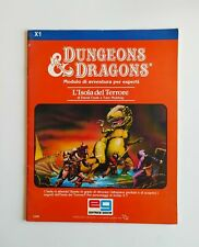 Dungeons & Dragons D&D L'isola del Terrore Manuale Modulo