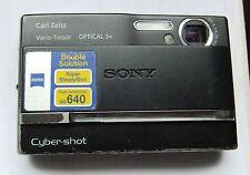 Sony Cyber-shot DSC-T9 + 512MB + Etui - Schwarz
