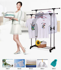 SUPREME- DOUBLE POLE TELESCOPIC CLOTH DRYING STAND RACK- EXTD