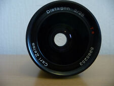 Contax Distagon 2/28 T* Carl Zeiss 28mm F/2 T* Lens for Contax C/Y Mount Black