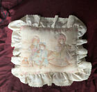 Vintage Shabby Chic Decorative Throw Pillow Rare