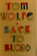 #AE, Tom Wolfe BACK TO BLOOD S/cover Postage Fast & FREE Ask Agnes