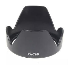 EW-78D Lens Hood for Canon EF-S 18-200mm F3.5-5.6 IS