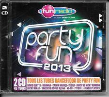 2 CD COMPIL 45 TITRES--PARTY FUN 2013--GUETTA/RIHANNA/KESHA/AVICII/PITBULL/NE-YO