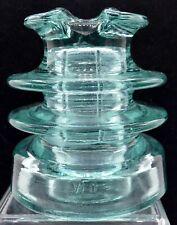 New ListingInsulators Cd 221.2 vFo Insulator Light Aqua Bolivia/Brazil 4 x 4-1/2 Inches