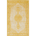 Bromley Midnight Yellow 6 Ft. X 9 Ft. Area Rug