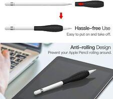 Stiftgriff Grip Holder aus Silikon Schutzhülle für Apple Pencil 1st/2nd in Black
