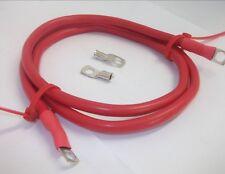 107cm Rojo Batería Toma de Tierra Cable Batería