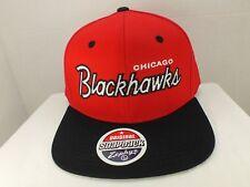 Chicago Blackhawks NHL Retro Vintage Snapback Cap Hat New Zephyr