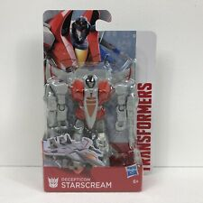"""Transformers Authentics Decepticon Starscream 4""""/10cm Figura De Acción Hasbro 6+"""