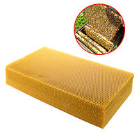 10 Sheets Natural Pure Beeswax Candlemaking Bee Wax Candle Crafts