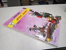 GA1 BD JESSE JAMES CREDIT MUTUEL ALBUM PUBLICITAIRE LUCKY LUKE *