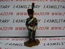 SOLDAT plomb TRICICLO 1/32 EMPIRE : chasseur à cheval de la garde Impérial 1812