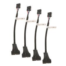 Cavo sdoppiatore da 4 pin USB 3.0 a 20 pin maschio a USB 2.0 femmina a 9 pin