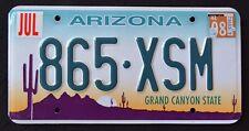 "ARIZONA "" GRAND CANYON STATE CACTUS DESERT 2008 AZ Vintage Classic License Plate"