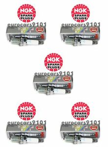 Set of (5) Audi A4 NGK Spark Plugs 5874 101905611