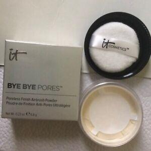 It Cosmetics Bye Bye Pores Finish Loose Airbrush Poreless Powder New With Box