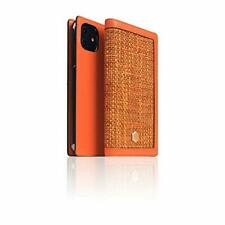 SLG iPhone 11 Pro Max Leather Wallet Case D5 Edition Calf Skin Leather Diary ...