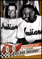 Cleveland Indians 2020 Topps Decade's Best Series 2 5x7 Gold #DB-9 /10
