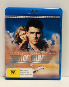 Top Gun (Region B Blu-ray) Tom Cruise, Kelly McGillis, Val Kilmer