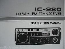 Icom-280 (Genuino Manual de instrucciones sólo).......... radio_trader_ireland.