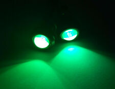 "Marine Boat Green LED Plug Light 3/4"" NPT Underwater Fish 2Pcs"