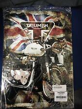 Triumph Motorcycles Thruxton Union Jack Metal Sign