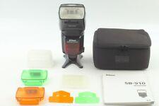 【MINT in Case】 Nikon SB-910 Speed Light Shoe Mount Flash SB910  From Japan