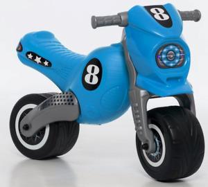 "Rutscher ""Cross 8"" Laufrad Motorrad Rutschauto extra groß 80cm NEU OVP in blau"