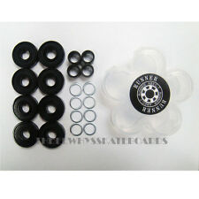 8pc Skateboard Longboard Runner Bearings Abec-7 with Spacers washer in a case