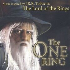 DAMAGED ARTWORK CD Kevin Pearce, James Prior: The One Ring: Music Inspired by Th
