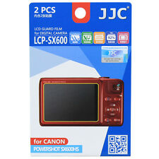 JJC LCP-SX600 LCD Film Camera Screen Display Protector for CANON POWERSHOT SX600
