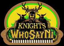 "70's Classic Monty Python And The Holy Grail ""Knights Who Say Ni"" custom tee"