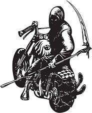 Monster Bikers Motos Demonio Chopper Diablo Vinilo calcomanía de pegatinas Sma sm5-1