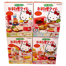 Rare! Re-ment Miniature Cooking Time Of Hello Kitty Step 1-4