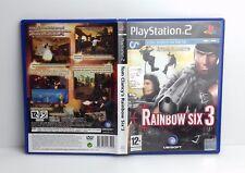TOM CLANCY'S RAINBOW SIX 3 - PS2 - PlayStation 2 - PAL - Italiano - Usato