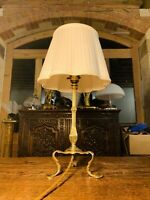 Antique Brass Pullman Carriage Lamp From Early 1900's - rewired