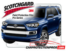 2019 Toyota 4Runner Limited 3M Pro Series Clear Bra Bumper Paint Protection Kit