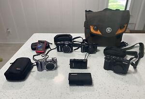 Camera Bundle - Nikon P7700 12.2MP, Canon, Olympus & More - Cases Plus Bag