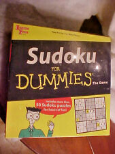 Sudoku for DUMMIES The Game University Games 2005 SEALED Age 8 & Up